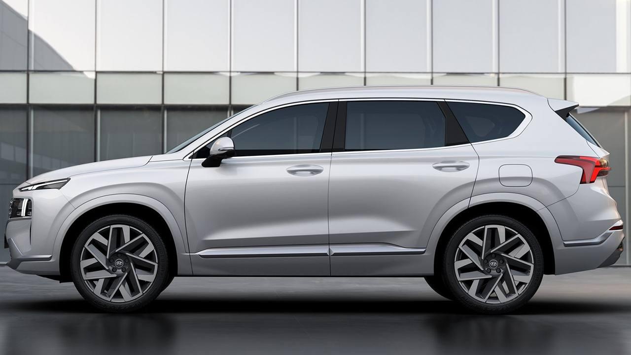Hyundai Santa Fe 2021 - lateral