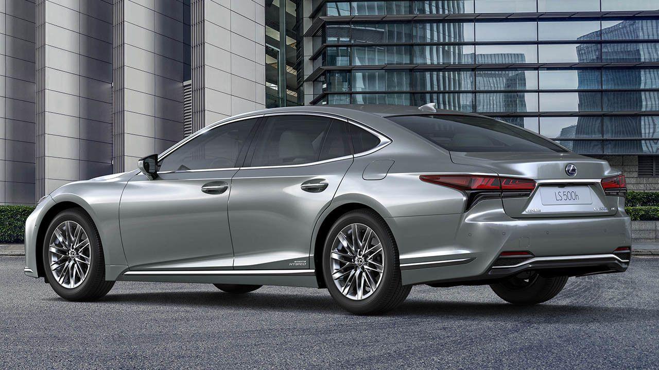 Lexus LS 500h 2021 - posterior