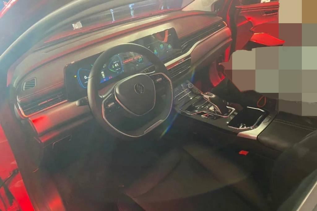 Renault-Ezoom Yi - interior