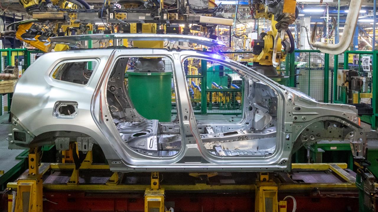 Producción del nuevo Renault Duster 2021