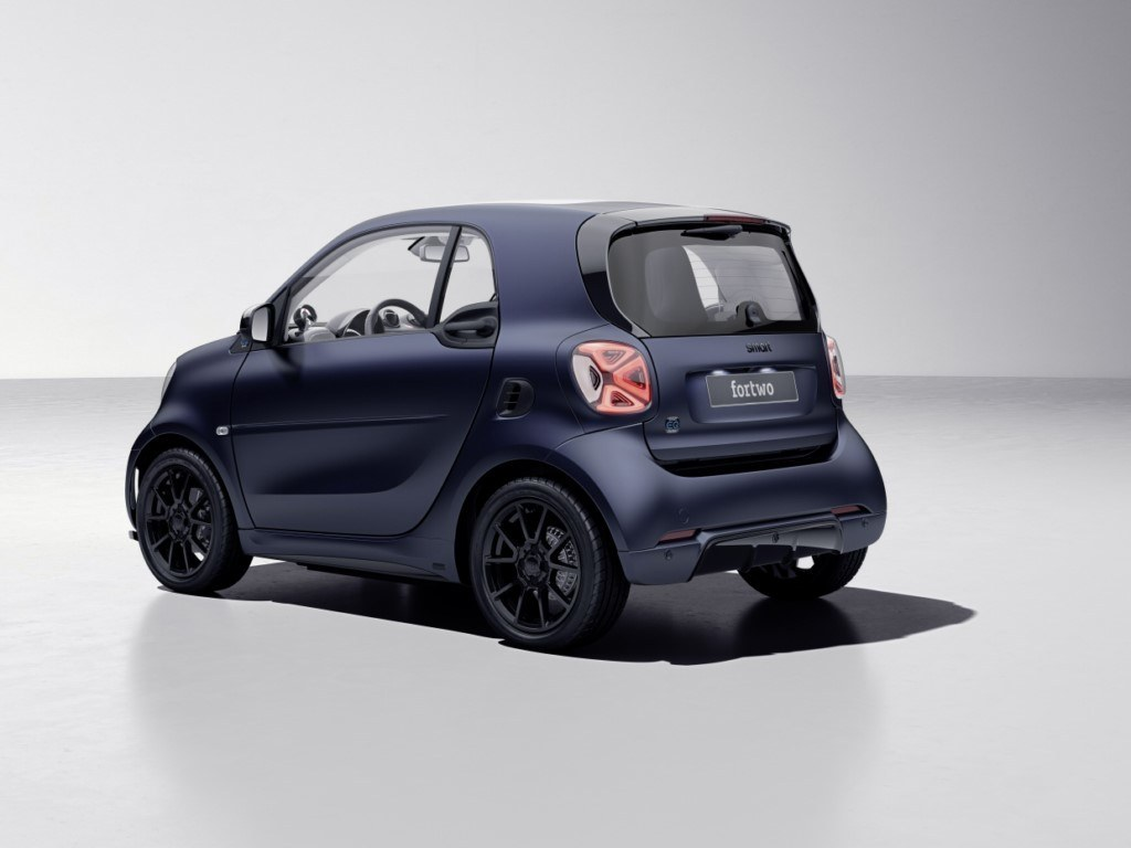 Foto Smart EQ fortwo edition bluedawn - exterior