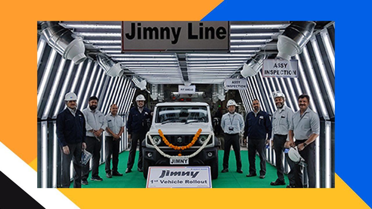 Producción del Suzuki Jimny en la India