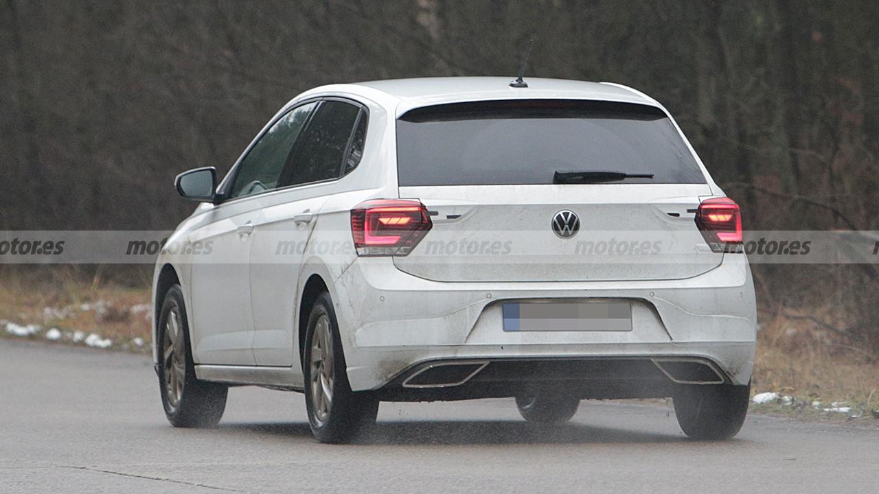 Volkswagen Polo 2022 - foto espía posterior