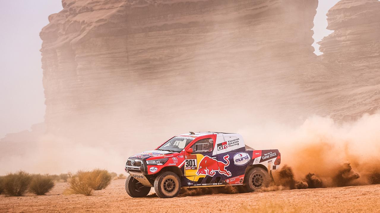 Yazeed Al-Rajhi se cuela por delante del 'Big Three' en la décima especial