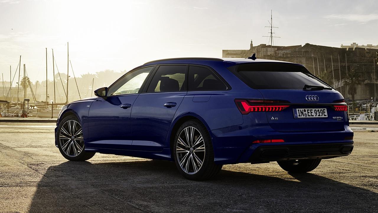 Audi A6 Avant TFSI and plug-in hybrid
