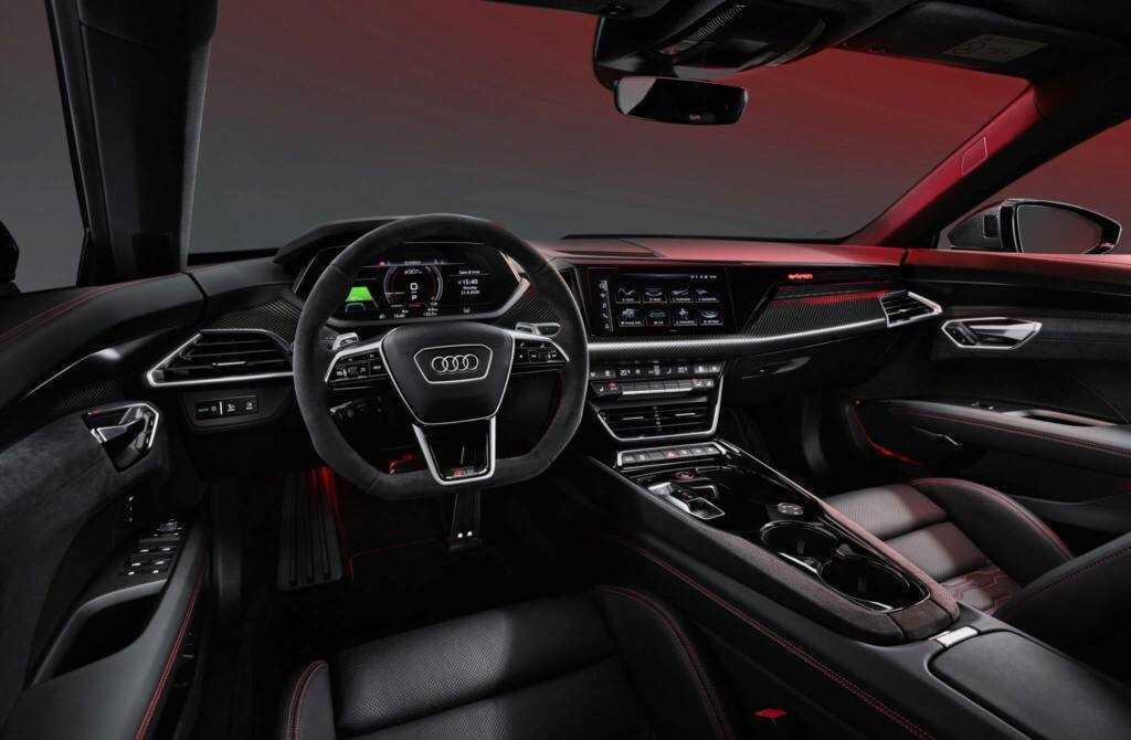 Filtración Audi e-tron GT 2021 - interior