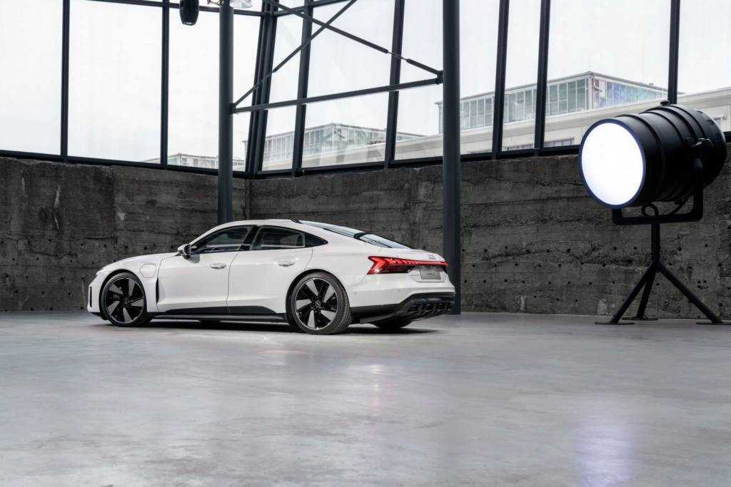 Filtración Audi e-tron GT 2021 - exterior