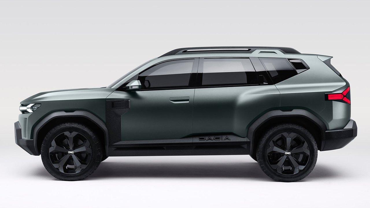 Dacia Bigster Concept - lateral