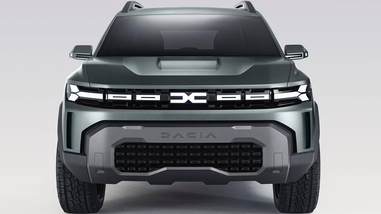Dacia Bigster Concept - frontal