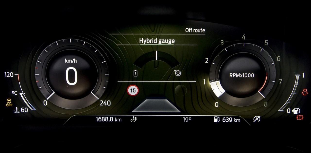 Foto Ford Puma Hybrid y Fiesta Hybrid - interior