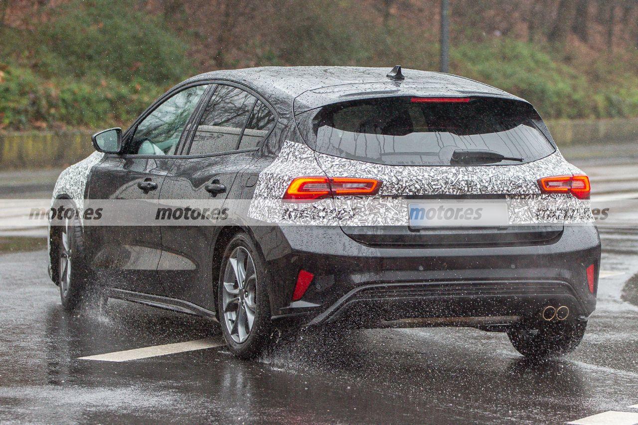 Fotos espía Ford Focus Facelift 2022 - exterior