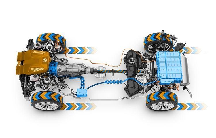 Photo Volkswagen Hybrid Powertrain - technology