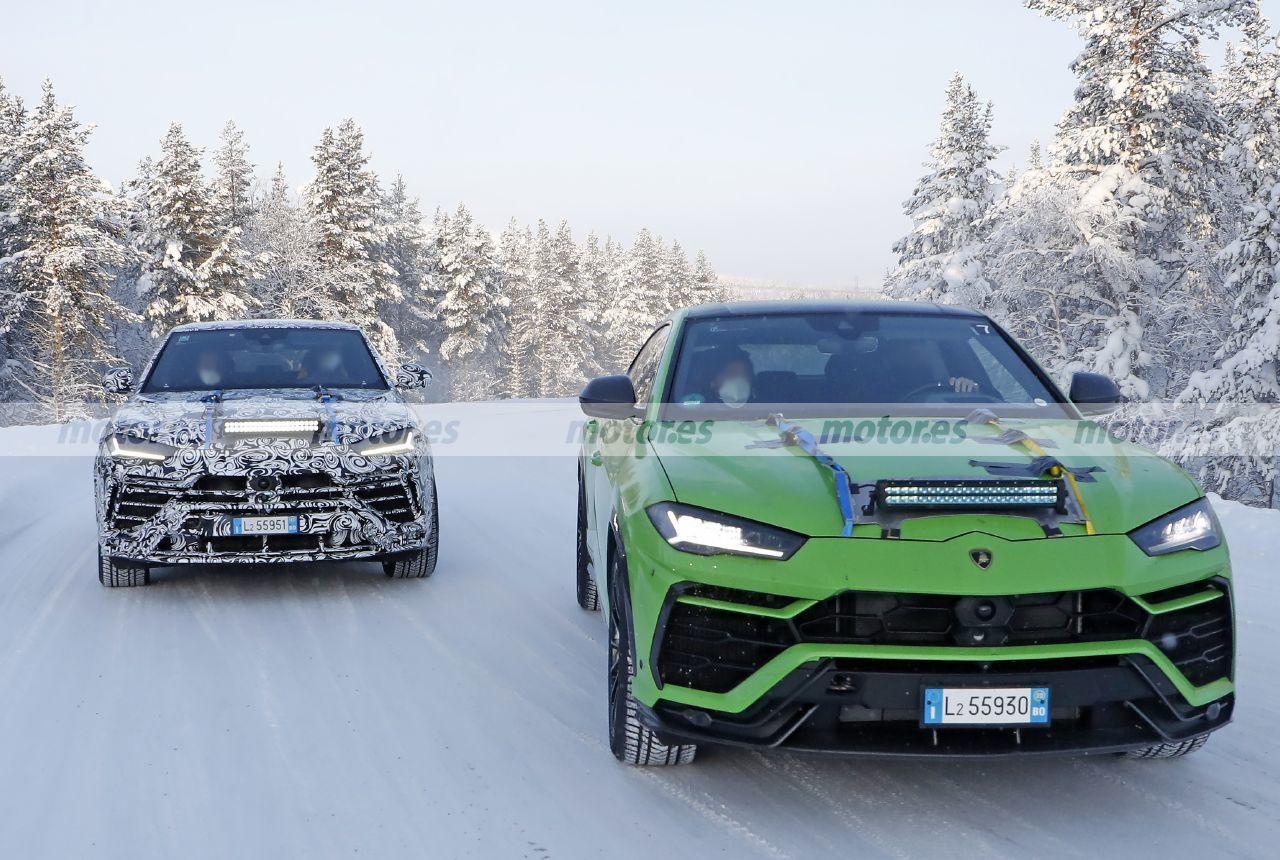 Foto espía Lamborghini Urus Evo 2022 - exterior