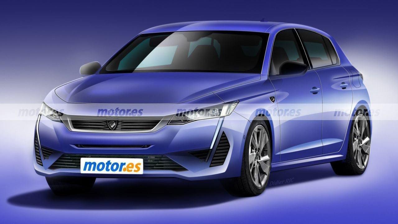 Recreación Peugeot 308 2021