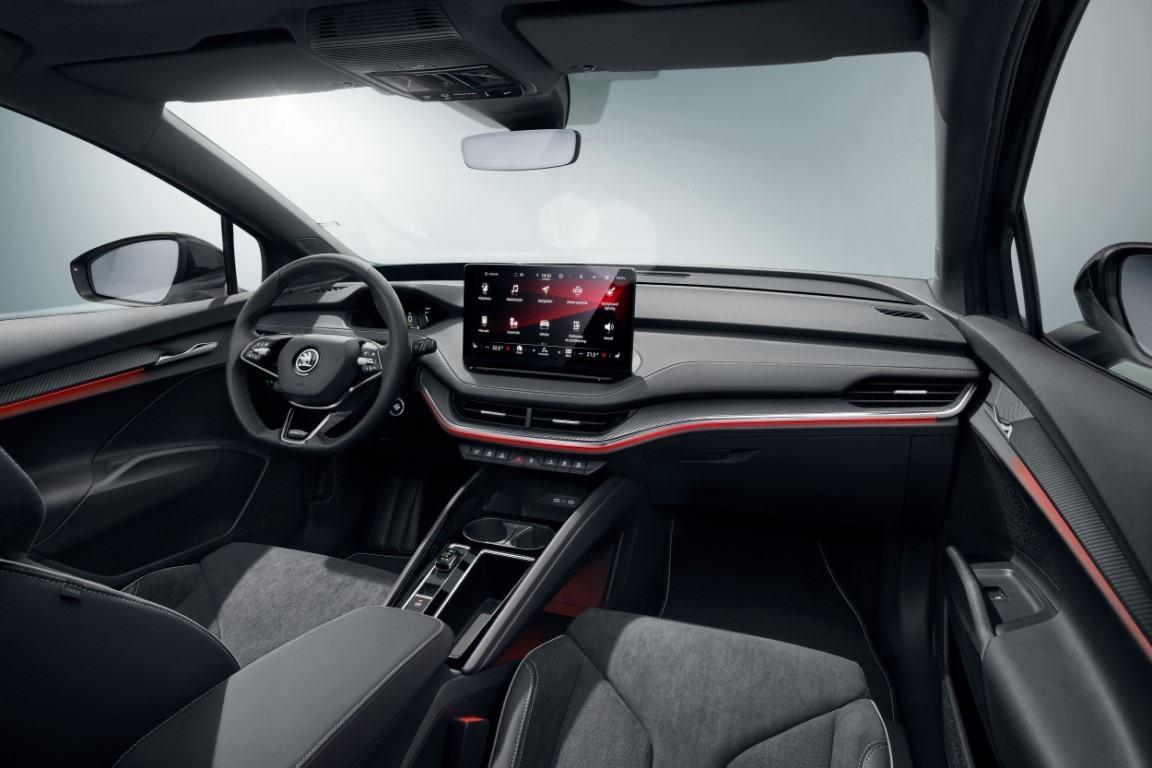 Foto Skoda ENYAQ SPORTLINE iV - interior