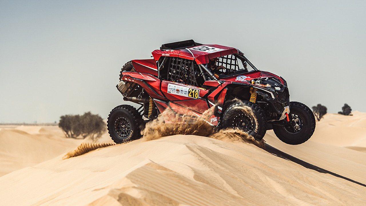 Yazeed Al-Rajhi prevails in Lower Dubai, the Spanish Laia Sanz is ninth