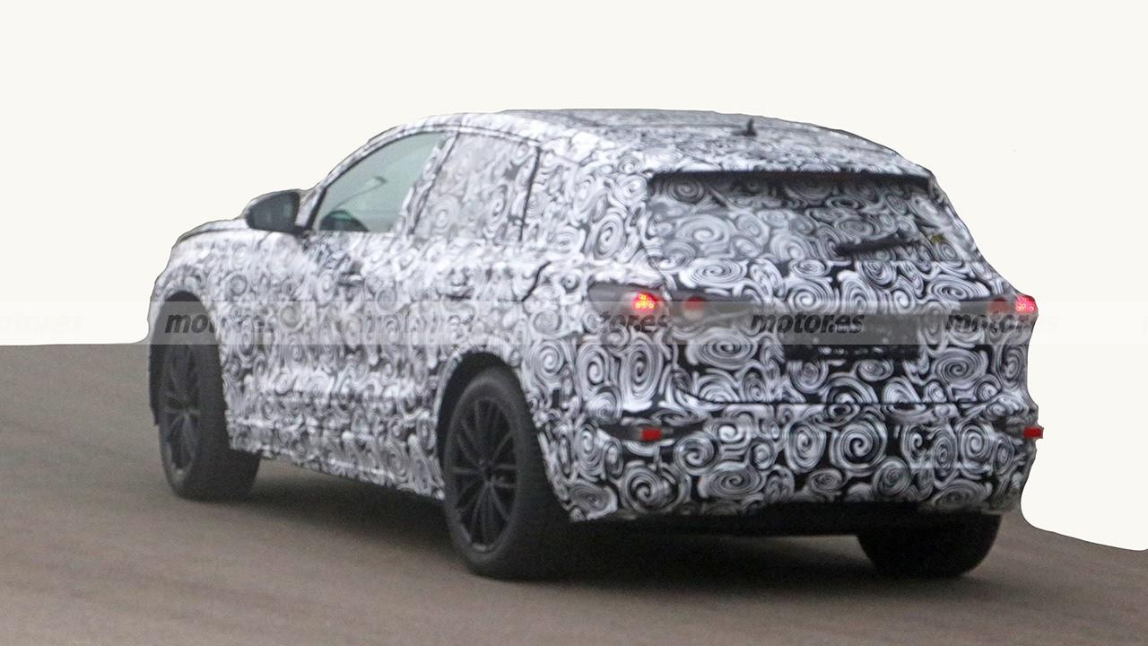 Audi Q5 e-tron - foto espía posterior