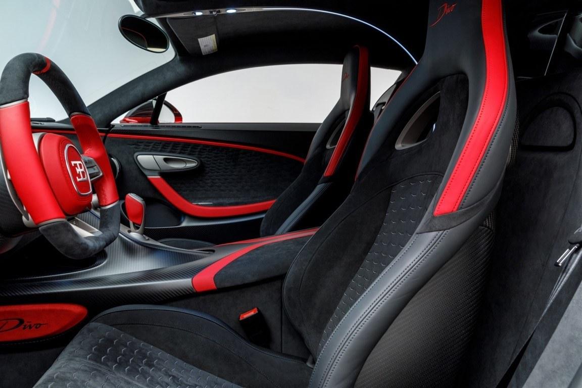 Foto Bugatti Divo Lady Bug - interior