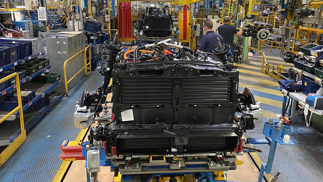 Producción de motores de Ford en Almussafes, Valencia