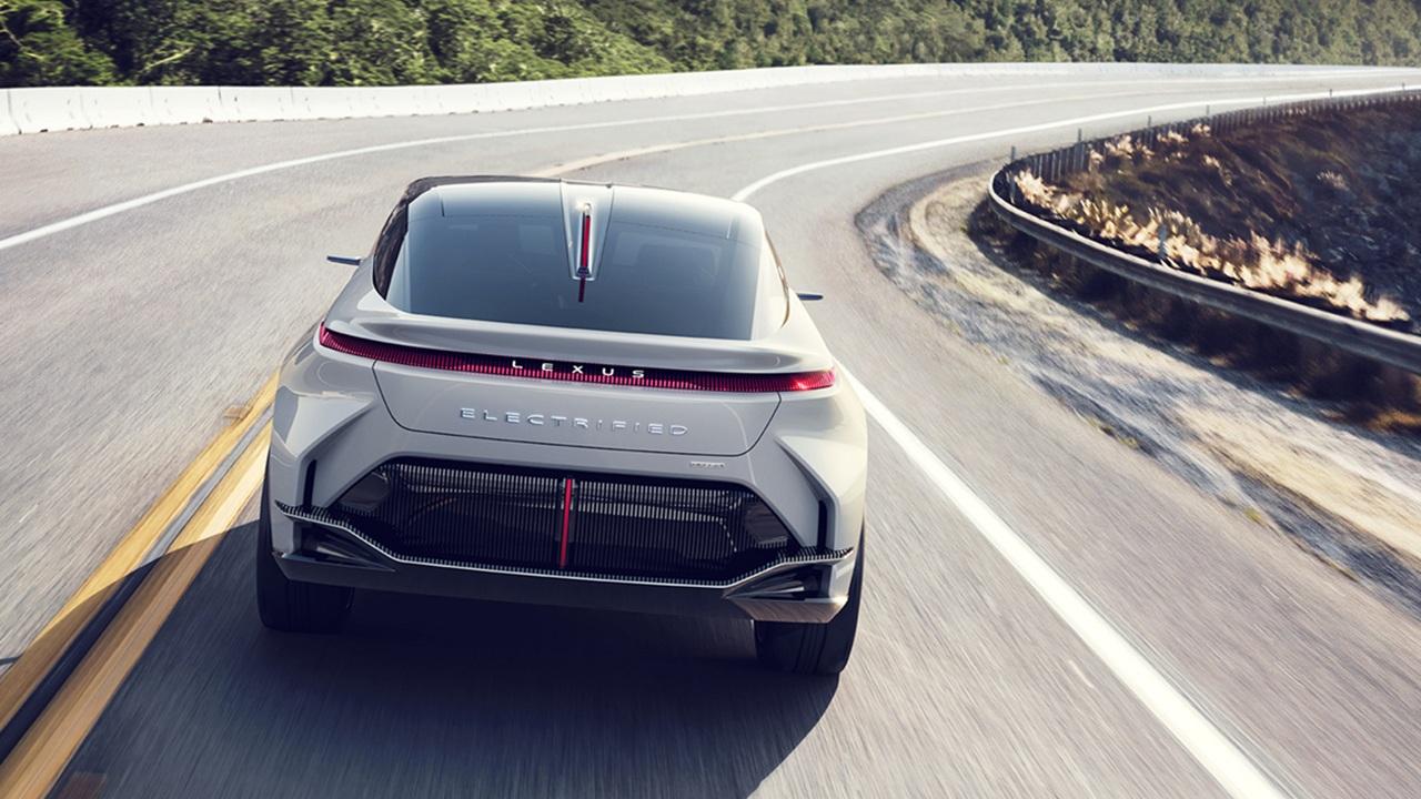 Lexus LF-Z Electrified - posterior