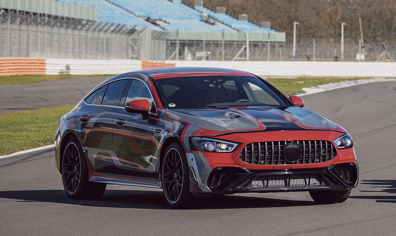 Teaser Mercedes-AMG GT 73 e 4MATIC Berlina - exterior