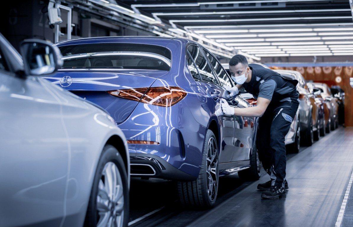 Foto Mercedes Clase C 2021 - producción