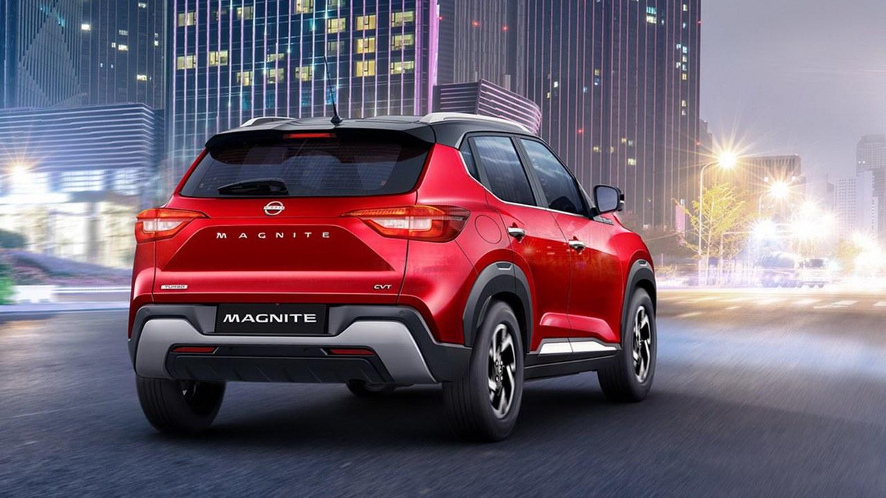 Nissan Magnite - posterior
