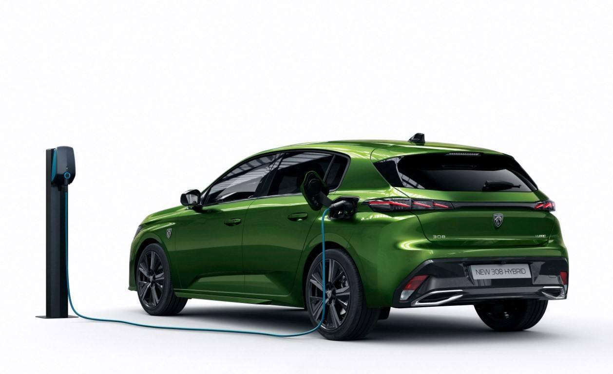 Foto Peugeot 308 PHEV 2021 - exterior