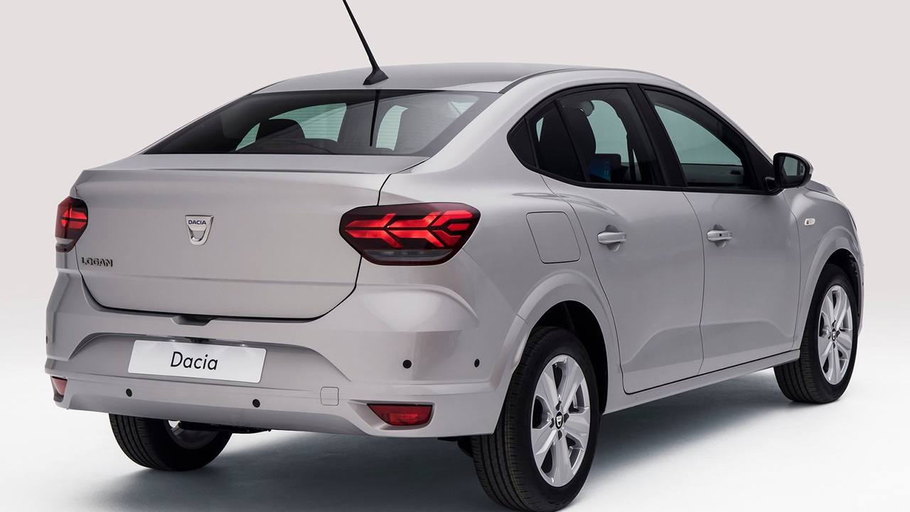 Dacia Logan 2021 - posterior
