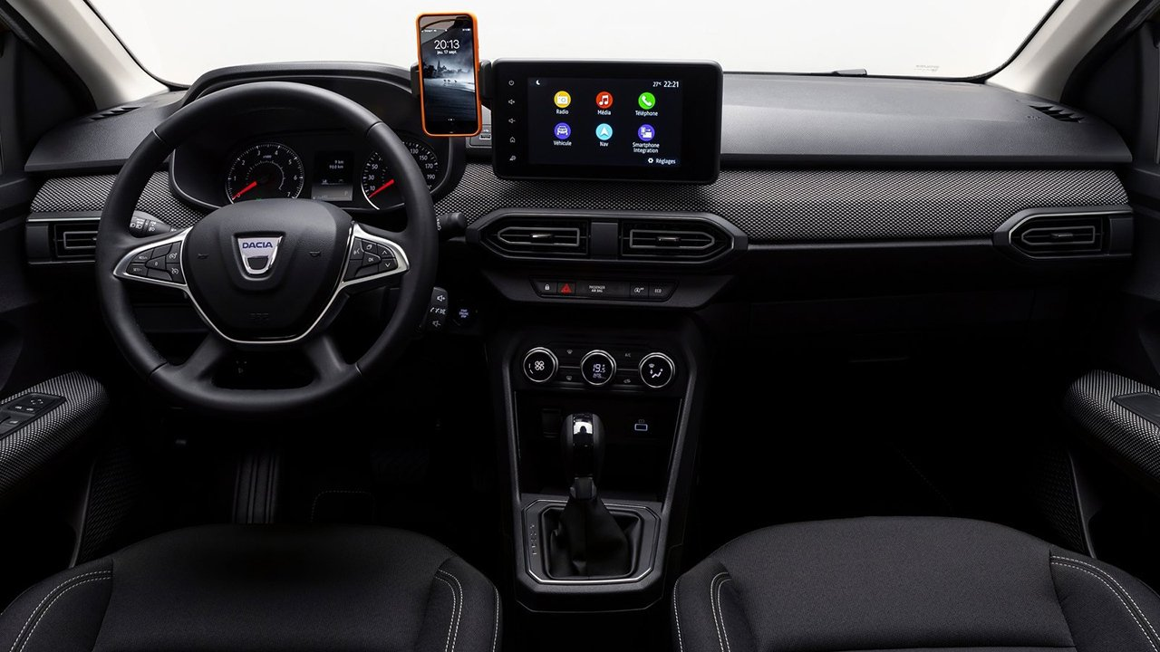 Dacia Logan 2021 - interior