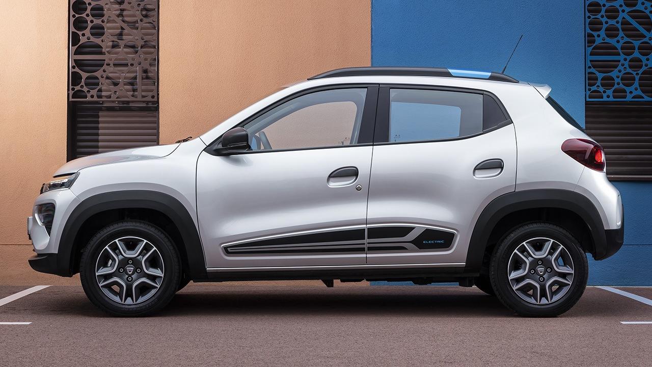 Dacia Spring - lateral
