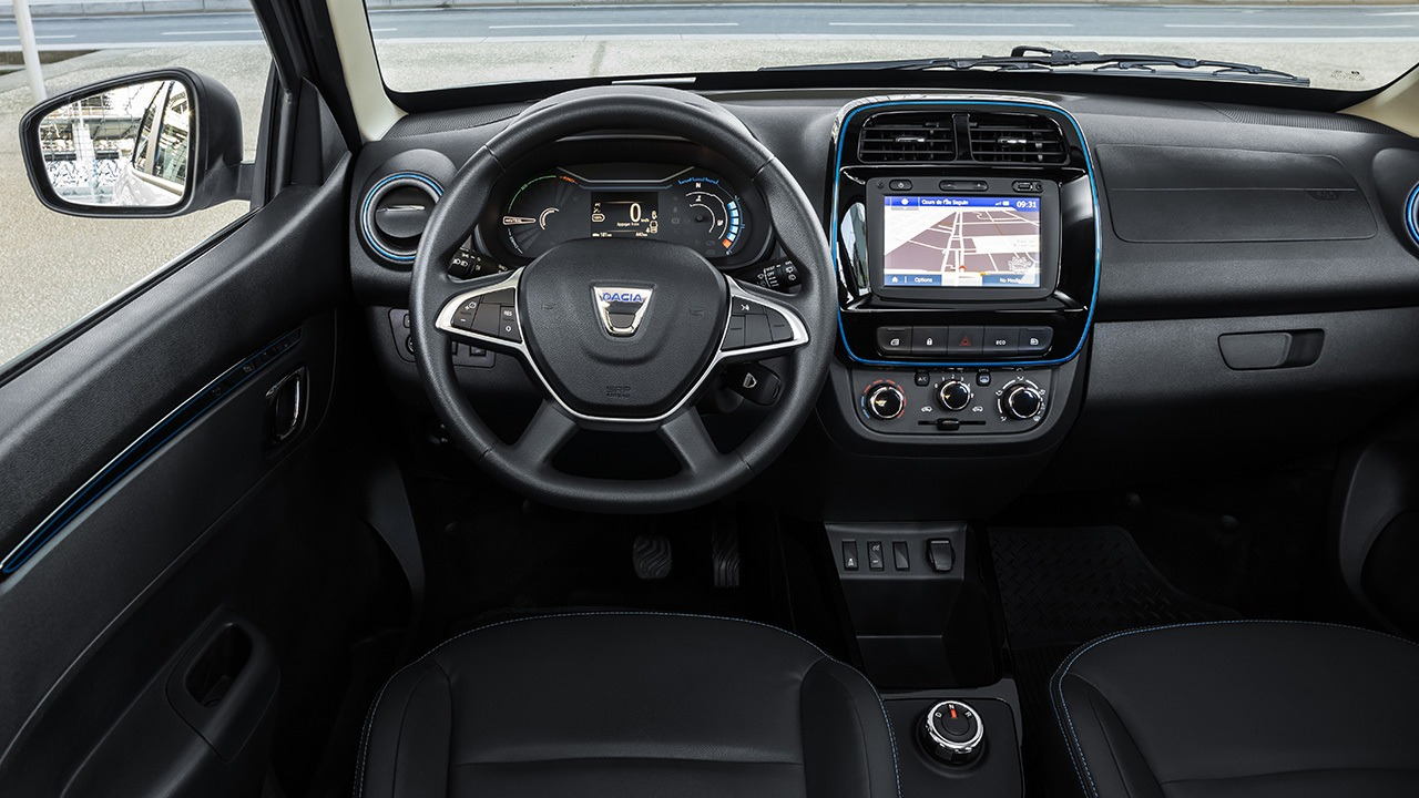 Dacia Spring - interior