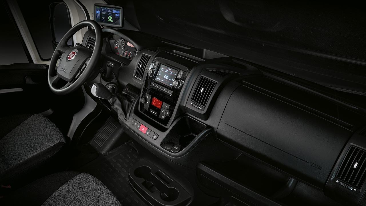 FIAT E-Ducato - interior