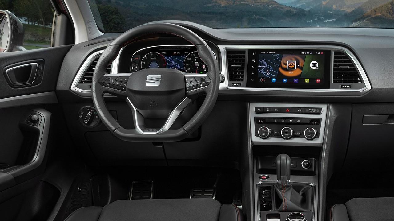 SEAT Ateca FR - interior