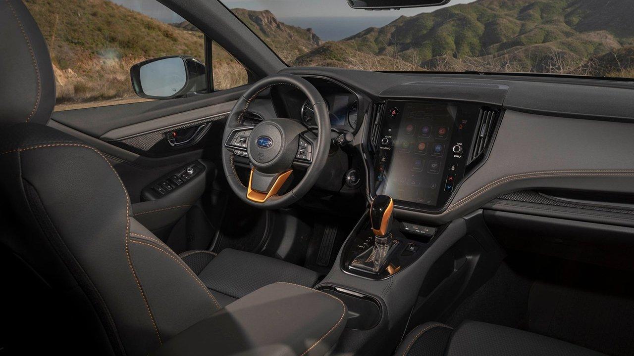 Subaru Outback Wilderness 2021 - interior