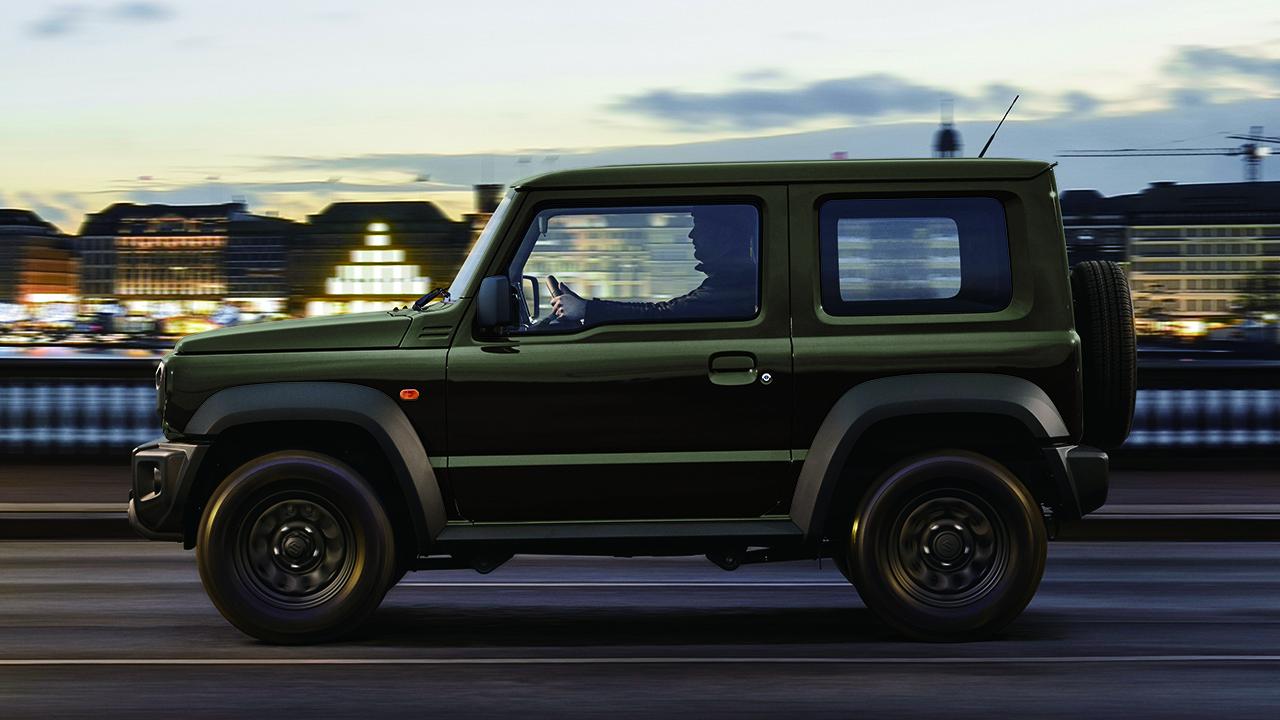 Suzuki Jimny Pro - lateral