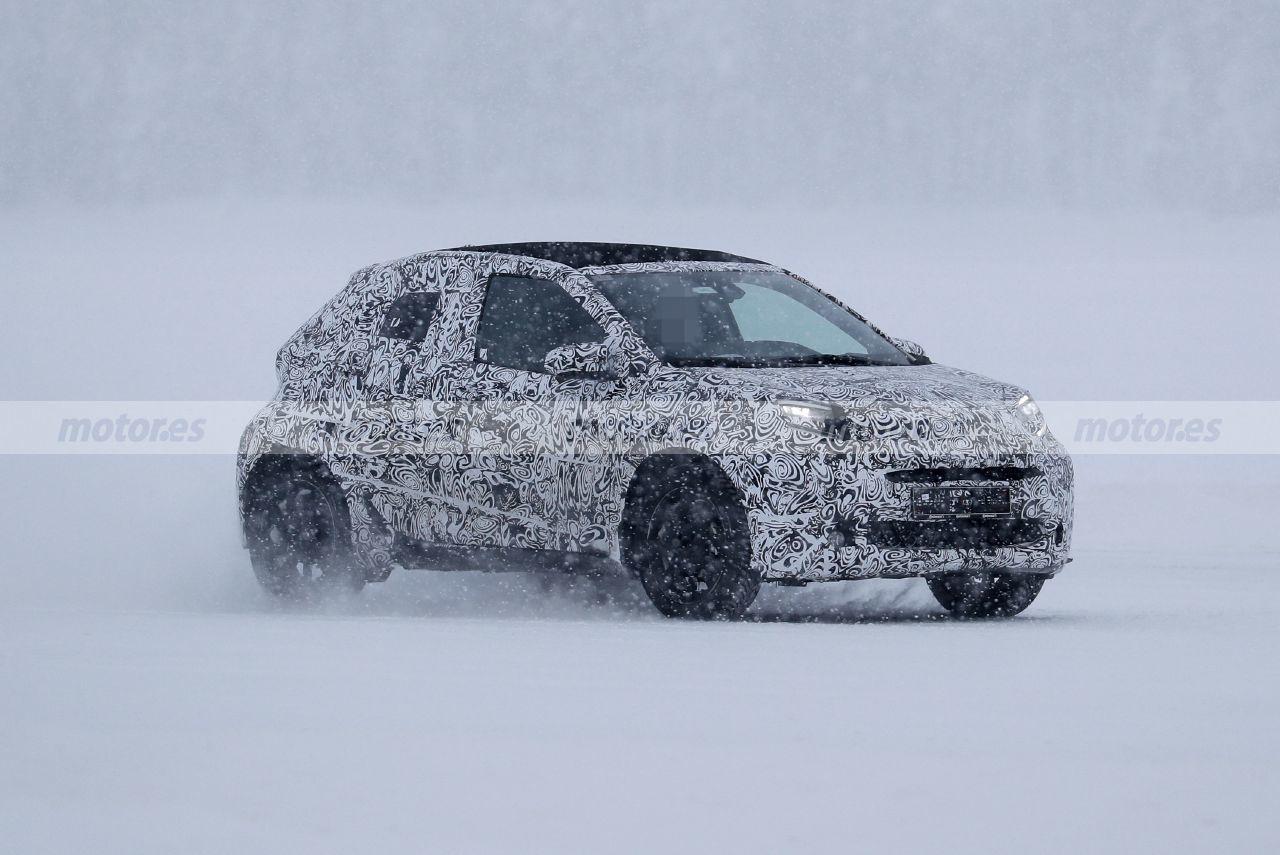 Foto espía Toyota Aygo 2022 - exterior