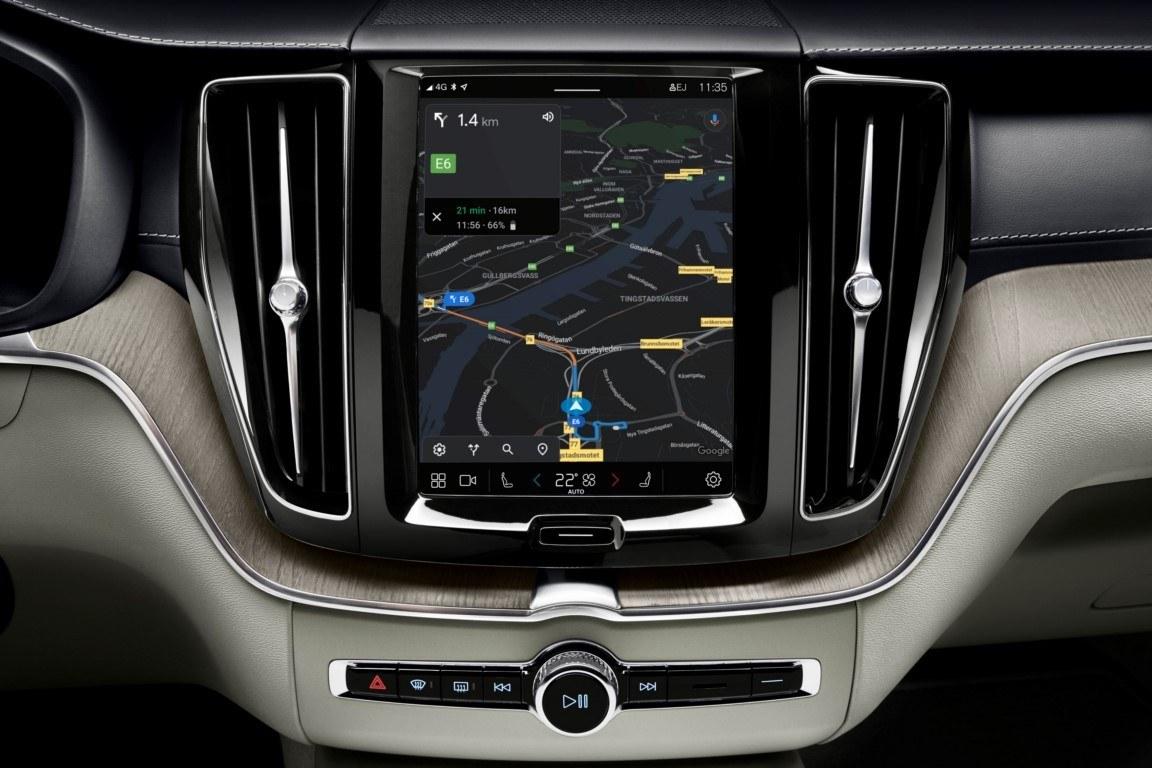 Foto Volvo XC60 Facelift 2021 - interior