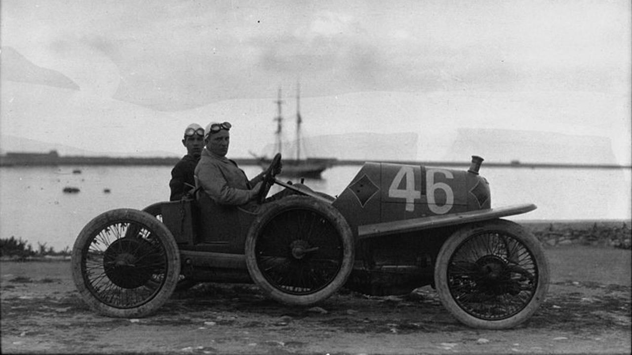 Alfred Neubauer en la Targa Florio de 1922