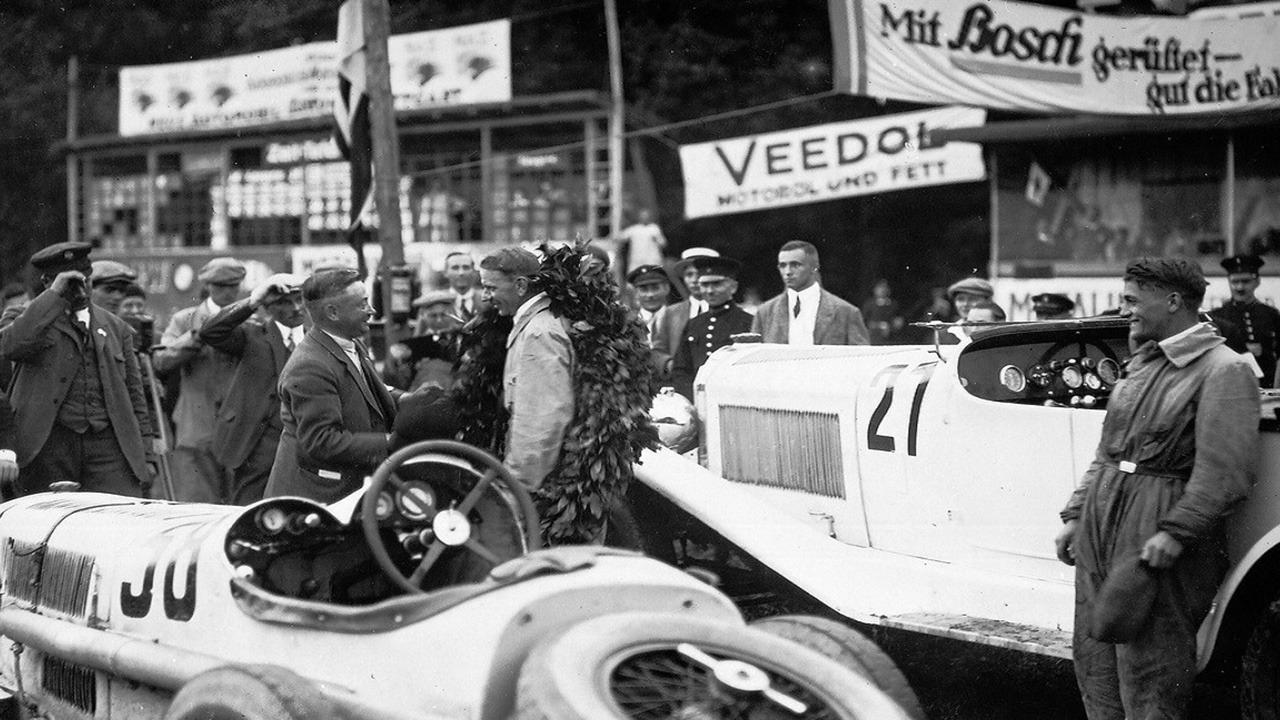 Willy Walb, ganador en el Solituderennen de 1926