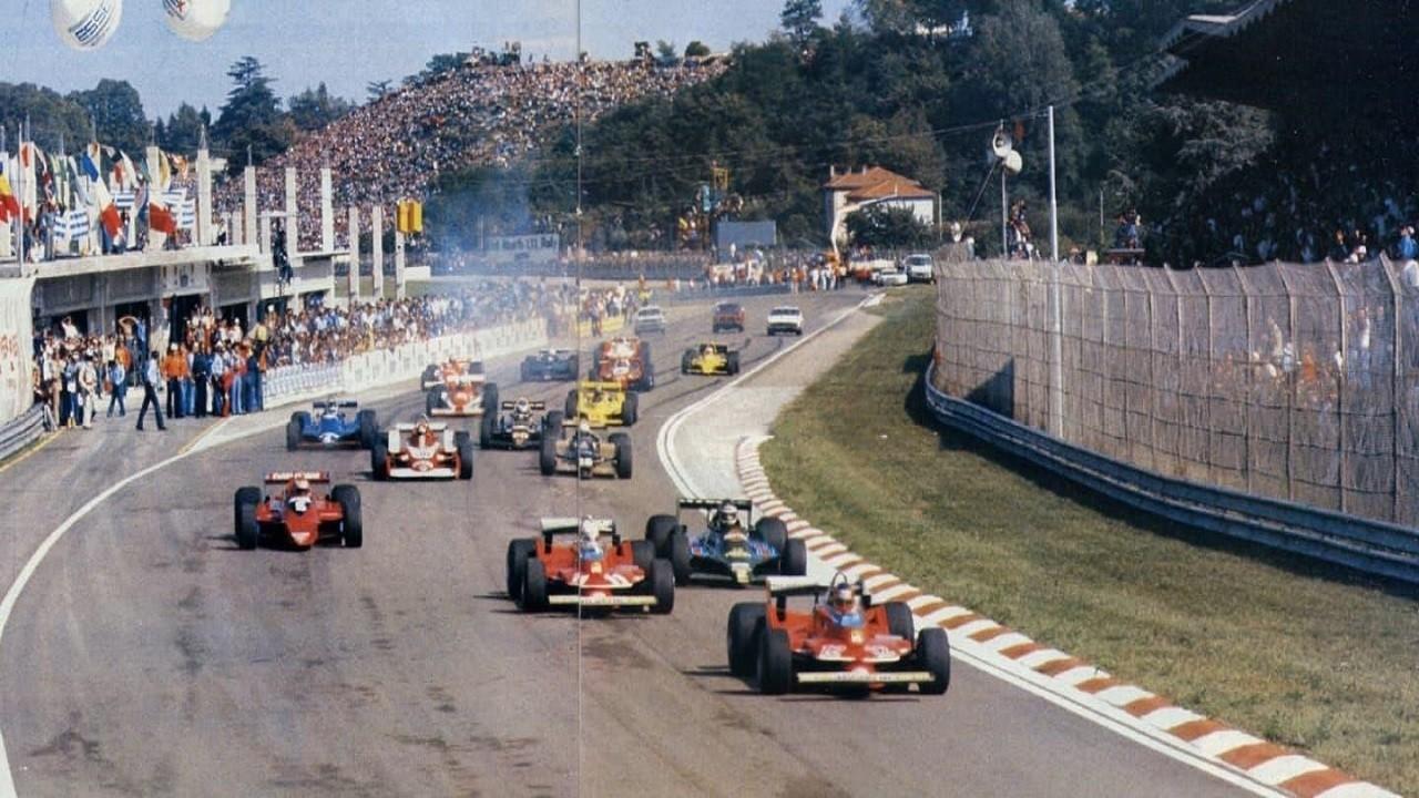 Salida del Gran Premio Dino Ferrari de 1979