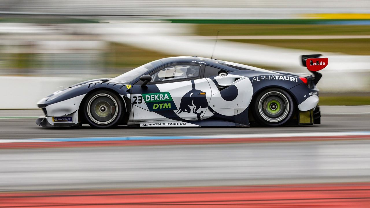 Auer y Mercedes lideran el segundo día del test DTM en Hockenheim