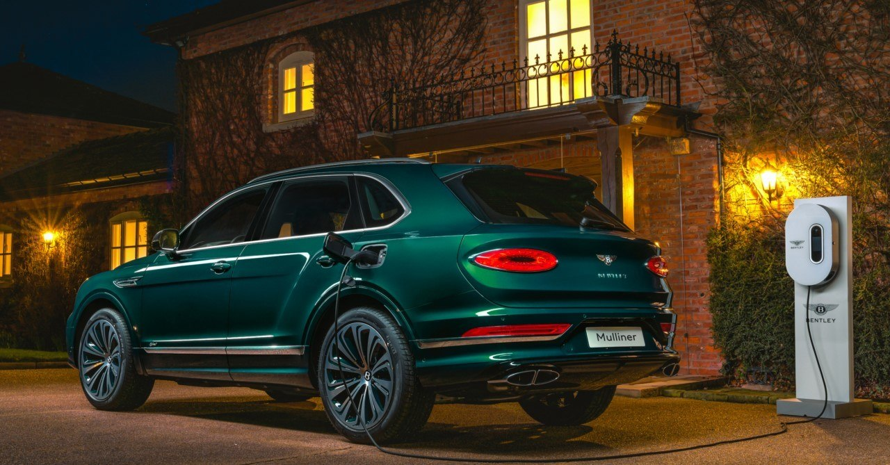 Foto Bentley Bentayga Hybrid Mulliner - exterior