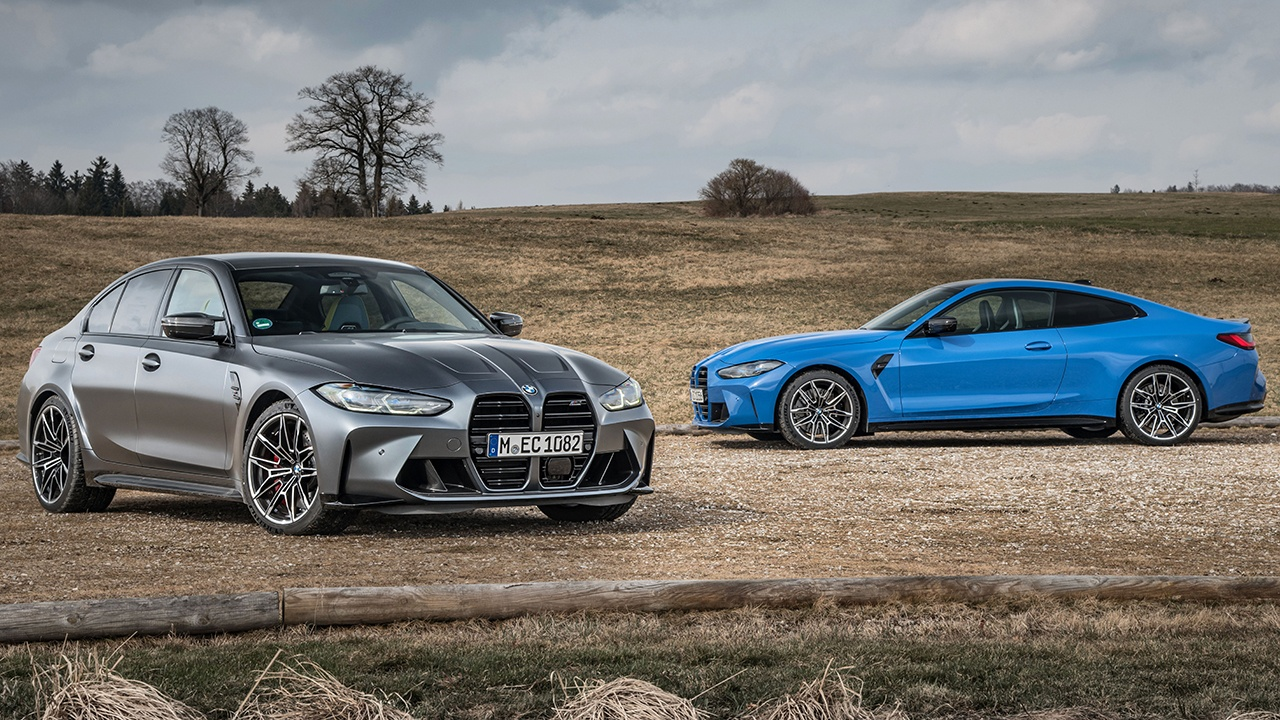 BMW M3 Competition y BMW M4 Competition