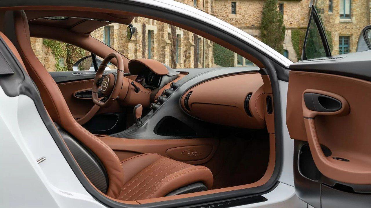 Foto Bugatti Chiron Pur Sport - interior