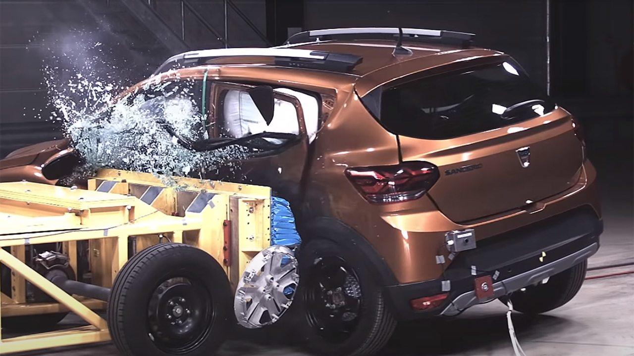 Dacia Sandero Stepway 2021 - Euro NCAP