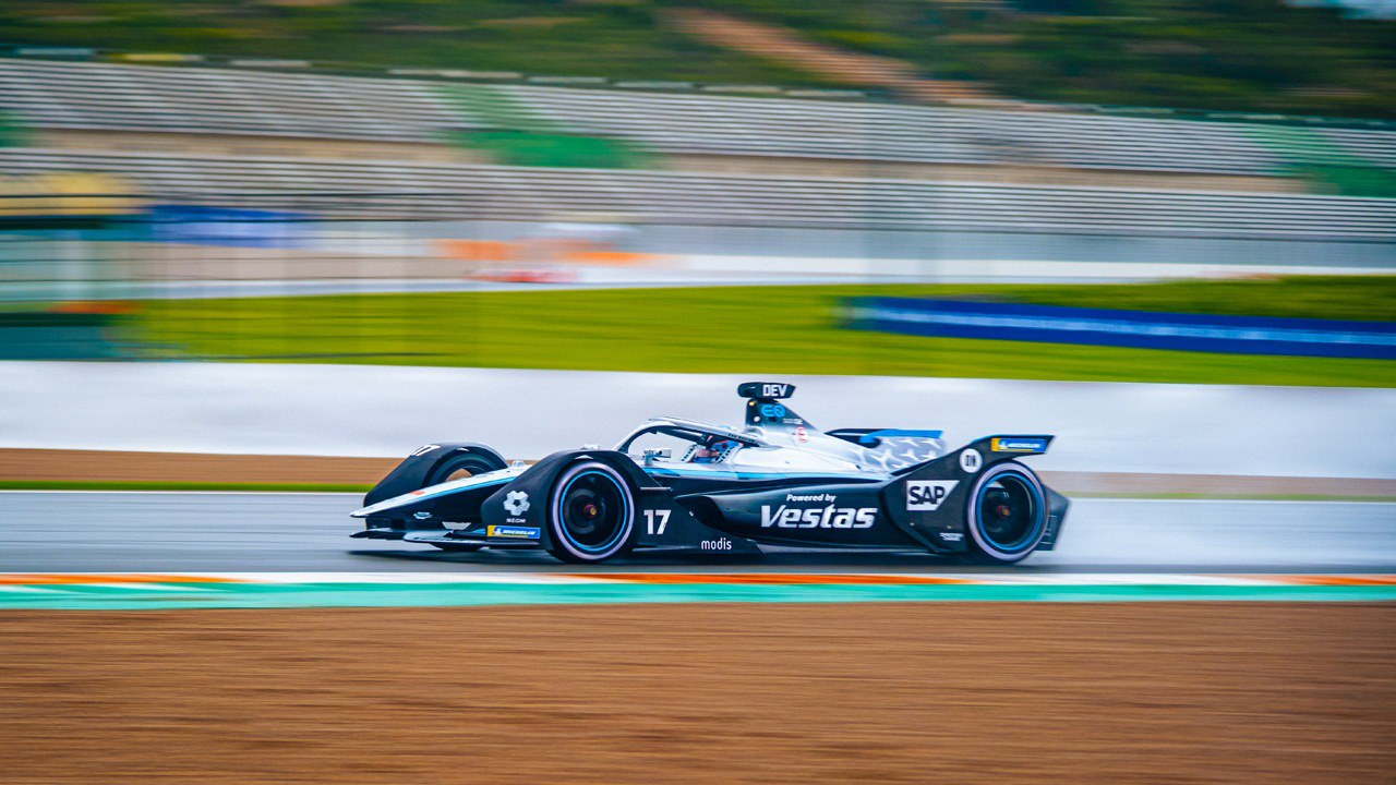 Nyck de Vries en el ePrix de Valencia