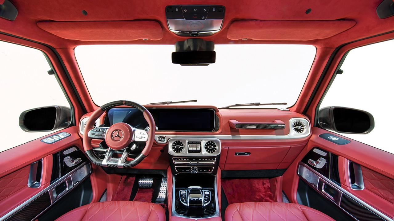 HG 63 Sport - interior