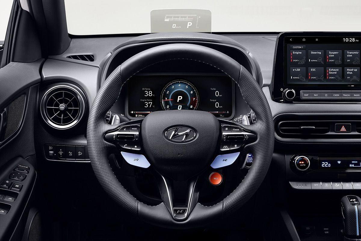 Foto Hyundai Kona N - interior