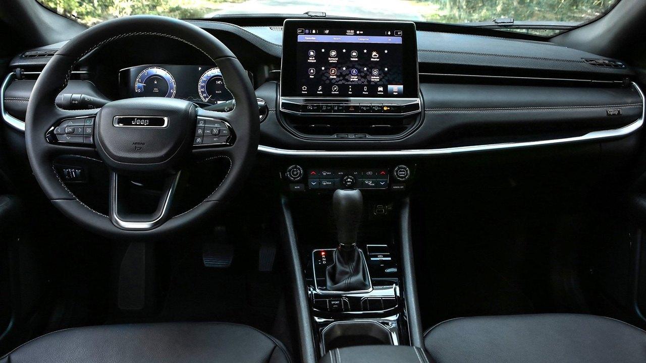 Jeep Compass 80th Anniversary - interior